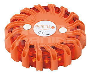 Moto112+ LED Warning Light - 1