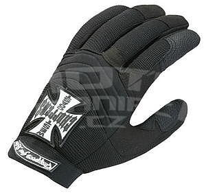 West Coast Choppers Gloves Black - 1
