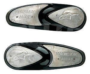 Replacement Toe Slider Magnesium Alpinestars