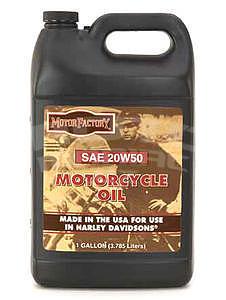 Motor Factory HD 20W50, 1 gallon