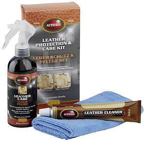 Autosol Leather Care Kit sada na čištění kůže