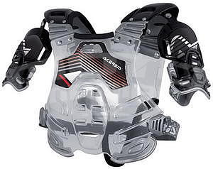 Acerbis Bomber Chest Protector - transparent/black - 1
