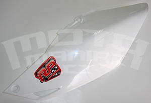 RP plastová bočnice bílá - Honda CRF250R 2014-2015 - 1