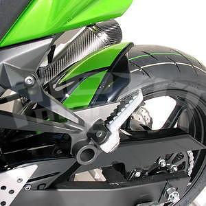 Ermax zadní blatník s krytem řetězu - Kawasaki Z750 2007-2012, 2009 pearl green/black metal (metallic diablo/candy lime green)