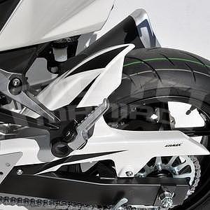 Ermax zadní blatník s krytem řetězu - Kawasaki Z750 2007-2012, 2010, 2012 white (pearl stardust white)