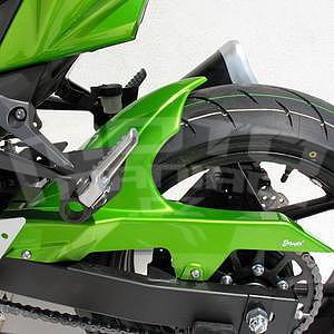 Ermax zadní blatník s krytem řetězu - Kawasaki Z750 2007-2012, 2007/2009, 2012 pearl green (candy lime green)