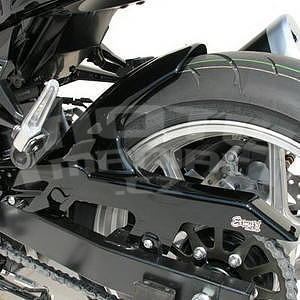 Ermax zadní blatník s krytem řetězu - Kawasaki Z750 2007-2012, 2009 metallic black (metallic diablo black)