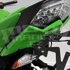 Ermax podsedlový plast s držákem SPZ - Kawasaki Z750 2007-2012, 2007/2009, 2012 pearl green (candy lime green)