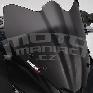Ermax Sport plexi větrný štítek 28cm - Kawasaki Z750R 2011-2012, černé satin
