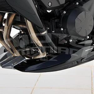 Ermax kryt motoru - Kawasaki Z750R 2011-2012, metallic black grey flake