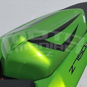 Ermax kryt sedla spolujezdce - Kawasaki Z750R 2011-2012, 2012 pearl green/black metal