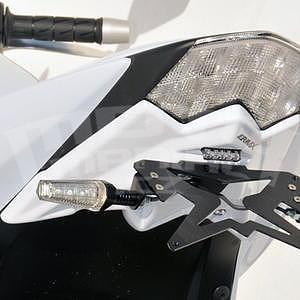 Ermax podsedlový plast s držákem SPZ - Kawasaki Z750R 2011-2012, bez laku