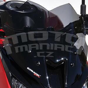 Ermax Sport plexi větrný štítek 30cm - Kawasaki Z800 2013-2016, černé kouřové