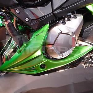 Ermax kryt motoru - Kawasaki Z800 2013-2016, 2013/2015 green mat/metallic black