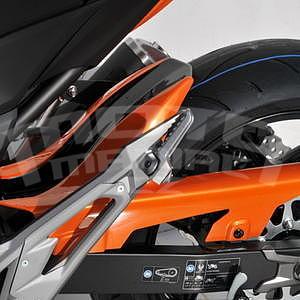 Ermax zadní blatník s krytem řetězu - Kawasaki Z800 2013-2016, 2013 orange (pearl blazing)/metallic black