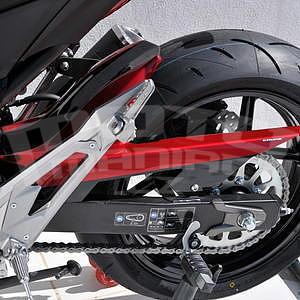 Ermax zadní blatník s krytem řetězu - Kawasaki Z800 2013-2016, 2015 red/black metal