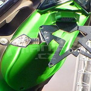 Ermax podsedlový plast - Kawasaki Z800 2013-2016, 2013/2015 green mat (green candy flat blazed))