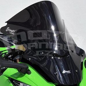 Ermax Aeromax plexi 45cm - Kawasaki Ninja ZX-10R 2011-2015, černé neprůhledné