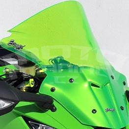 Ermax Aeromax plexi 45cm - Kawasaki Ninja ZX-10R 2011-2015, zelené fluo 2