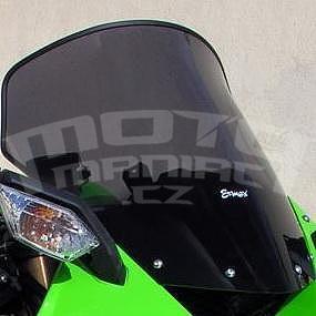 Ermax turistické plexi +5cm - Kawasaki Ninja ZX-6R 2009-2012, černé kouřové