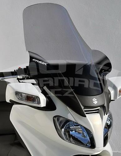 Ermax turistické plexi 81cm (+18cm) - Suzuki Burgman 650 2002-2011 - 1