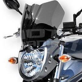 Ermax přední maska s plexi - Suzuki Bandit 1250 2010-2014, 2010 anthracite grey (YLF), plexi light black