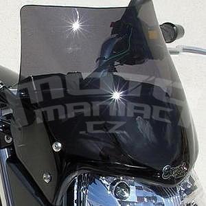 Ermax turistické plexi 25cm - Suzuki GSR600 2006-2011, černé kouřové