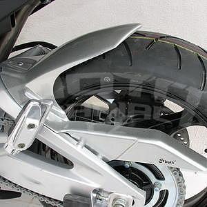 Ermax zadní blatník s krytem řetězu - Suzuki GSR600 2006-2011, 2006/2010 silver carbon look