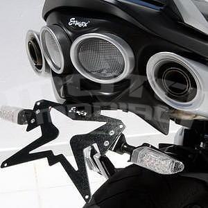 Ermax podsedlový plast s držákem SPZ - Suzuki GSR600 2006-2011, 2006/2007 satin black