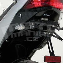 Ermax podsedlový plast - Suzuki GSX650F 2008-2016, 2012/2016 black (YVB)