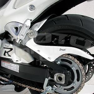 Ermax zadní blatník s krytem řetězu - Suzuki Hayabusa 1300 2008-2016, 2008, 2010/2011 white (YPA)