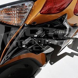 Ermax podsedlový plast s držákem SPZ - Suzuki GSX-R600/750 2008-2010, 2009/2010 glossy black (solid black/019)