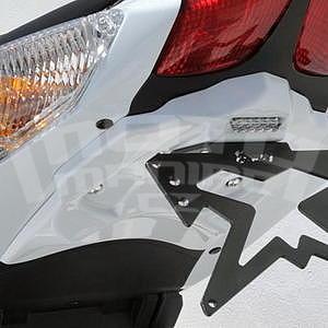 Ermax podsedlový plast s držákem SPZ - Suzuki SV650/S 2003-2006, 2014/2016 white (YWW)
