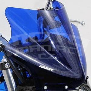 Ermax plexi větrný štítek 24cm - Suzuki Gladius 2009-2015, modré