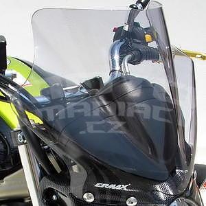 Ermax plexi větrný štítek 24cm - Suzuki Gladius 2009-2015, čiré