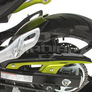 Ermax zadní blatník s krytem řetězu - Suzuki Gladius 2009-2015, 2009 black/green