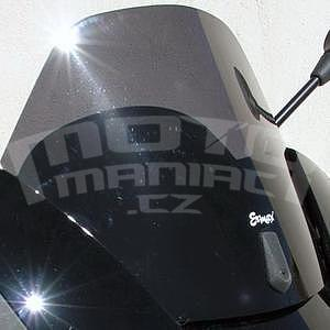Ermax Sport plexi 27cm - Piaggio X7/Evo 125/250 2007-2015, černé kouřové