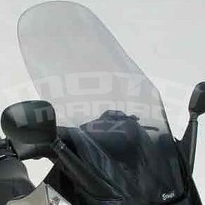 Ermax turistické plexi +20cm (75cm) - Piaggio X8/Evo 125/150/200/250/400 2004-2015, čiré