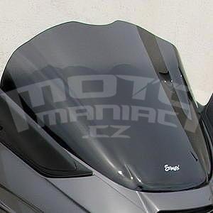 Ermax Sport plexi 35cm - Piaggio X8/Evo 125/150/200/250/400 2004-2015, černé kouřové