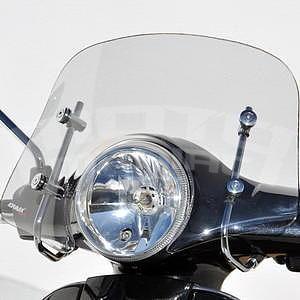 Ermax Piccolo plexi větrný štítek 30cm - Vespa LX 50/125/250 2005-2012, čiré