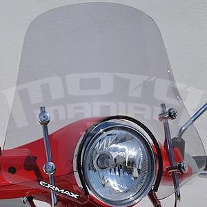 Ermax Mini Sportivo plexi štítek 40cm - Vespa Primavera 50/125 2014-2016, čiré