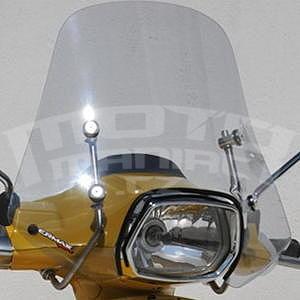 Ermax Mini Sportivo plexi štítek 40cm - Vespa Sprint 50/125 2014-2016, čiré
