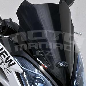 Ermax Hyper Sport plexi 50cm - Kymco K-XCT 125/300 2013-2016, černé neprůhledné