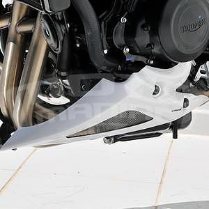 Ermax kryt motoru - Triumph Street Triple 2007-2011, 2008/2010 pearl white (fusion white)
