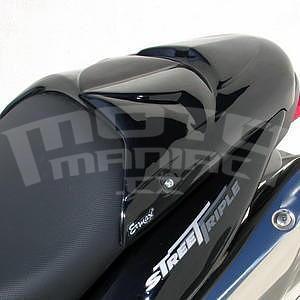 Ermax kryt sedla spolujezdce - Triumph Street Triple 2007-2011, 2008/2010 glossy black (jet black)
