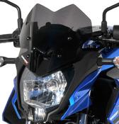 Ermax Sport plexi větrný štítek 26cm - Kawasaki Z125 2019-2020 - 1/5