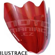 Ermax plexi větrný štítek 30cm - Suzuki GSR600 2006-2007, burgundy