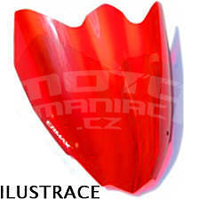 Ermax originální plexi 40cm - Suzuki Hayabusa 1300 2008-2016, červené