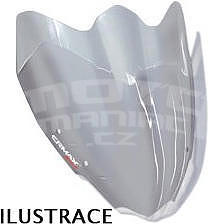 Ermax turistické plexi +10cm (47cm) - Suzuki Bandit 650S 2009-2012, lehce kouřové