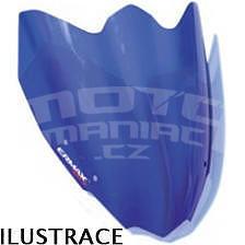 Ermax turistické plexi +20cm (75cm) - Piaggio X8/Evo 125/150/200/250/400 2004-2015, modré